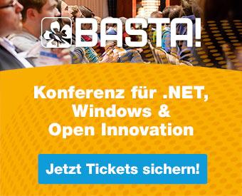 BASTA! – Konferenz für .NET, Windows & Open Innovation